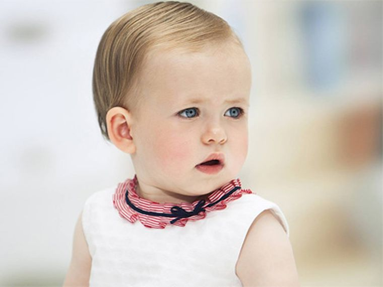 Ropa arregladita para bebé