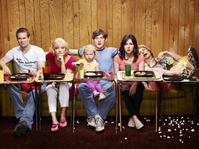 ¡Cuánto han cambiado las familias de las series de la tele!
