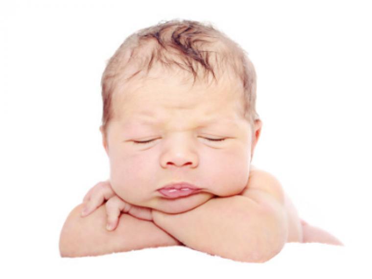 Las rarezas del bebé