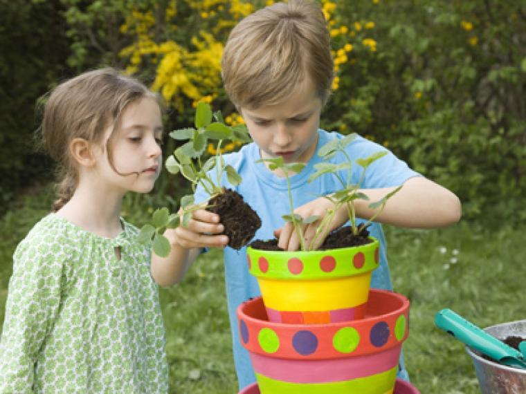 Herramientas para un huerto con niños