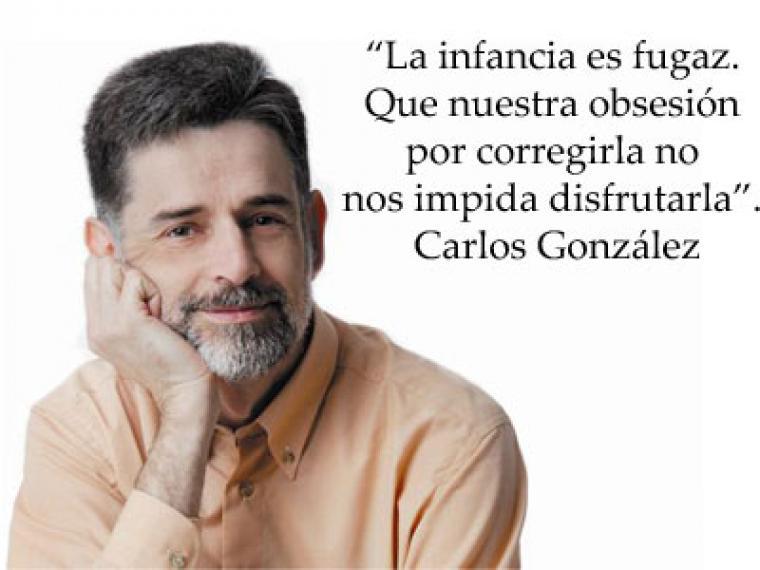 Os invitamos a la charla con Carlos Gónzalez