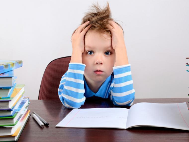 Los niños no necesitan a sus padres para hacer los deberes