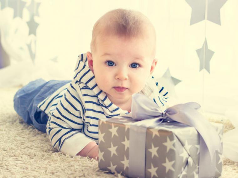 bebé regalo navidad