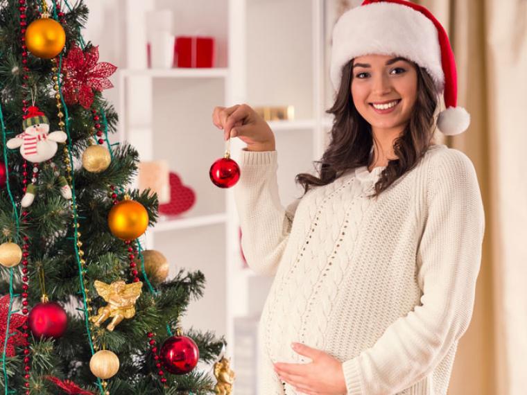 Embarazada navidad