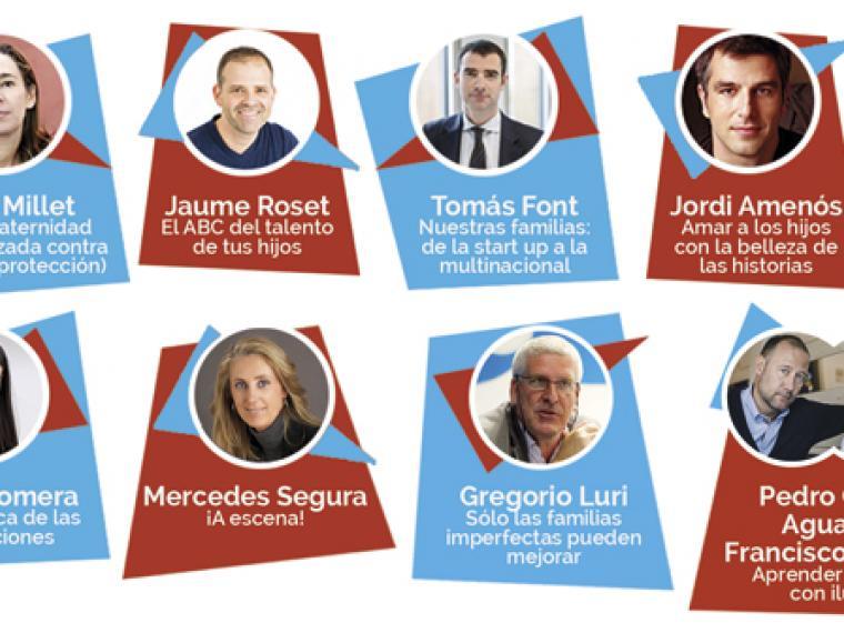 9 'influencers' de la educación reunidos en un único evento
