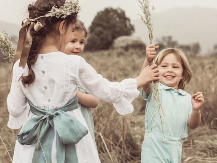 ¿Cómo vestir a los niños para ir a una boda?
