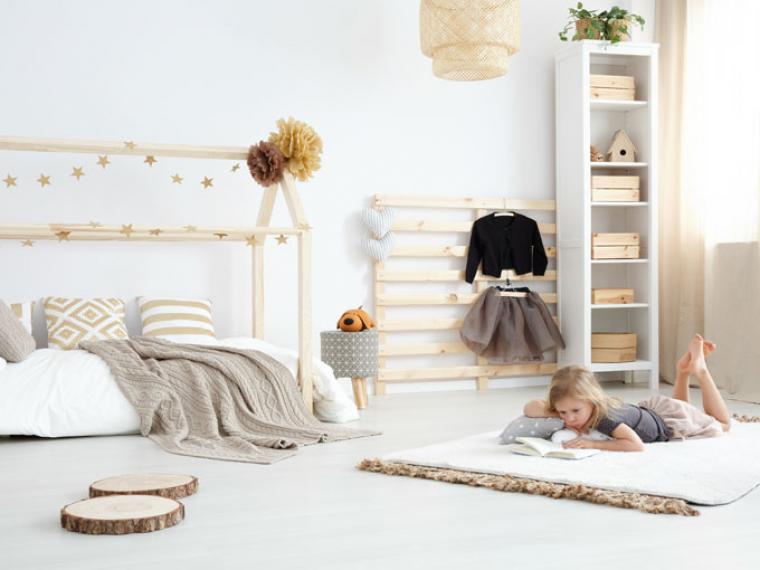 Claves para organizar el armario de tus hijos