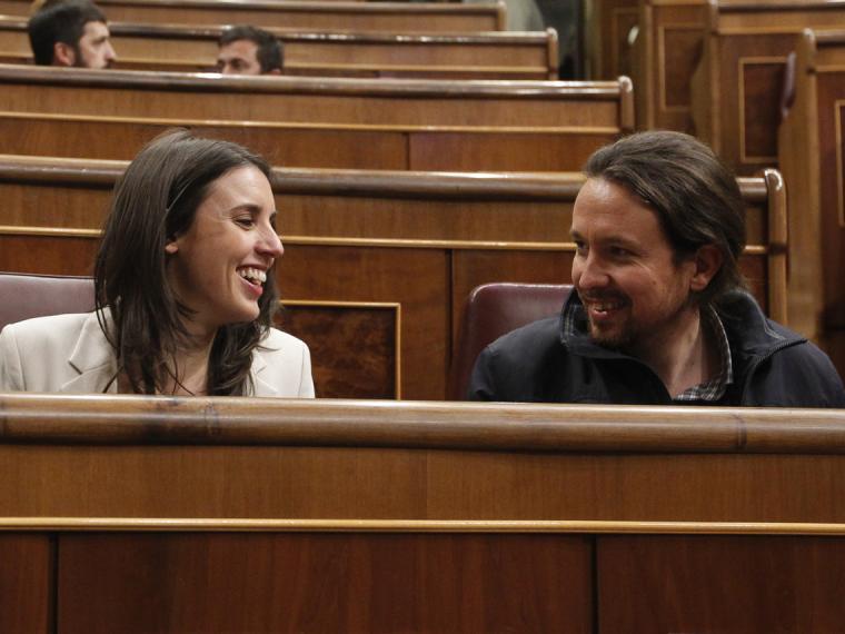 Irene Montero y Pablo Iglesias ya son padres de su tercera hija, Aitana