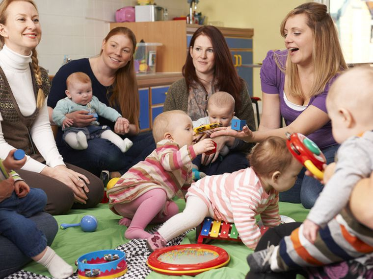 Grupos de apoyo a la lactancia: apoyo de madre a madre