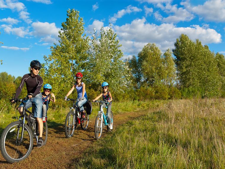 Bicicletas para cada uno de los miembros de la familia y ¡a disfrutar del verano!