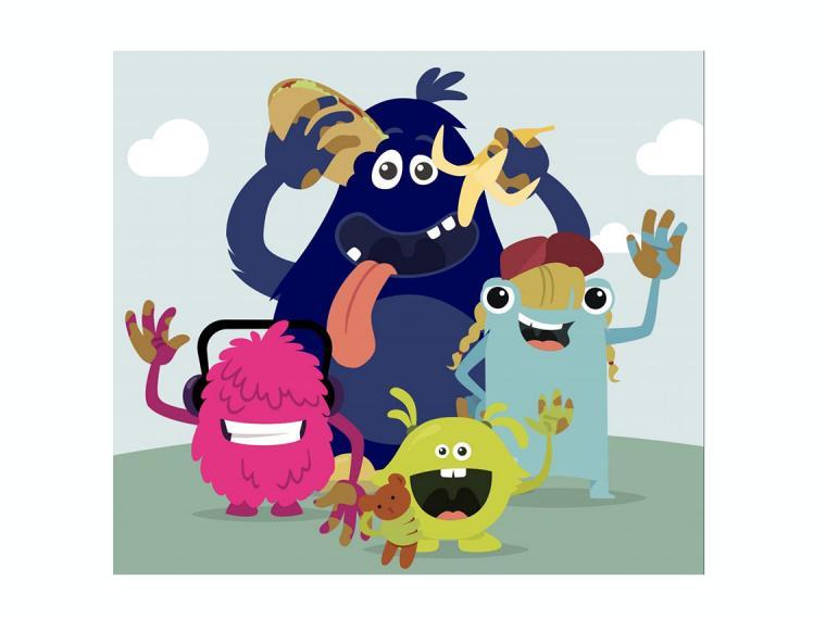 'Los Manosucias' enseñarán a los niños a lavarse bien las manos de forma muy divertida