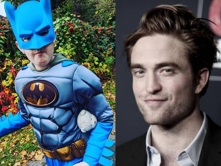 Robert Pattinson sorprende a un niño autista fan de Batman con un regalo muy especial