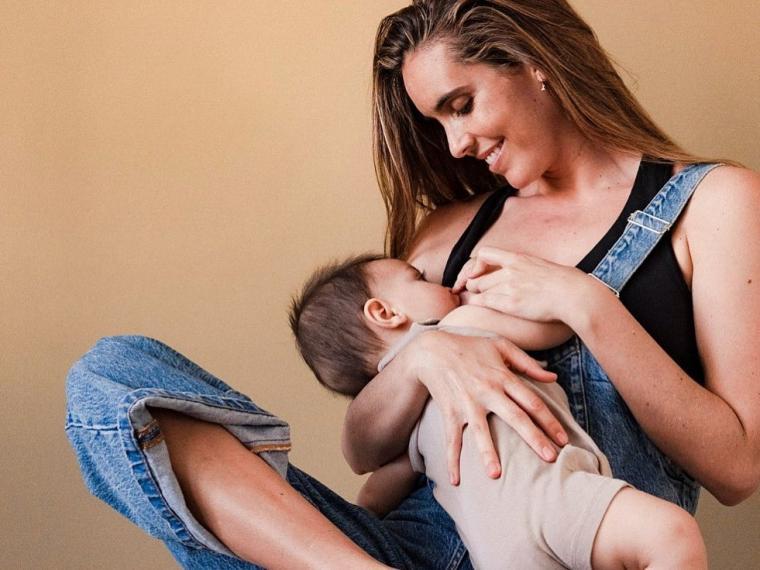 Ona Carbonell visibiliza la dificultad para conciliar lactancia materna con los juegos olímpicos