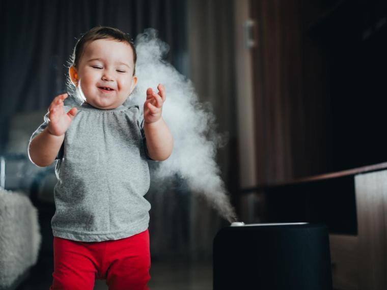 Elegir el humidificador o vaporizador adecuado para niños: todo lo que debes saber