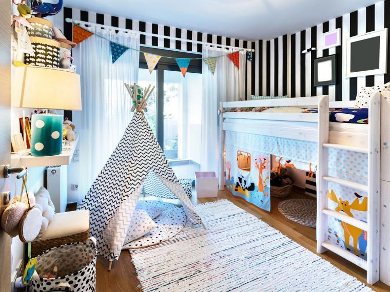 Cómo organizar la habitación de los niños