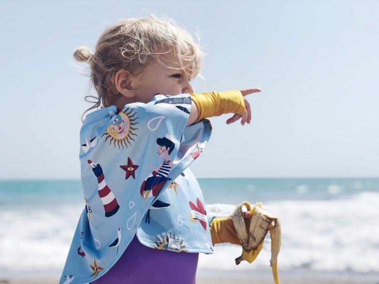 Bañadores infantiles con protección solar para disfrutar del verano