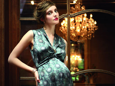 Moda embarazo: Vestidos premamá de fiesta