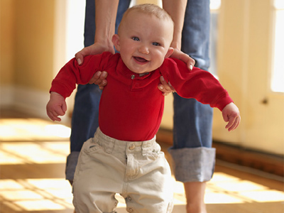 Aprender a andar: mejor sin prisas