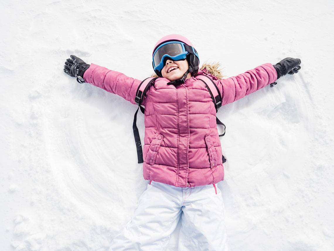 0c4175ac78 Vamos a la nieve. ¿Qué equipo necesitan los niños?