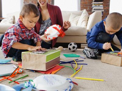 Ayuda a los niños a desarrollar su creatividad