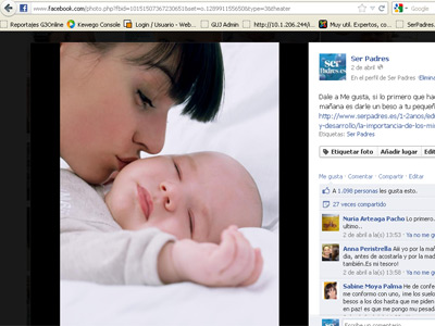 Facebook, muy útil para ser (buenos) padres