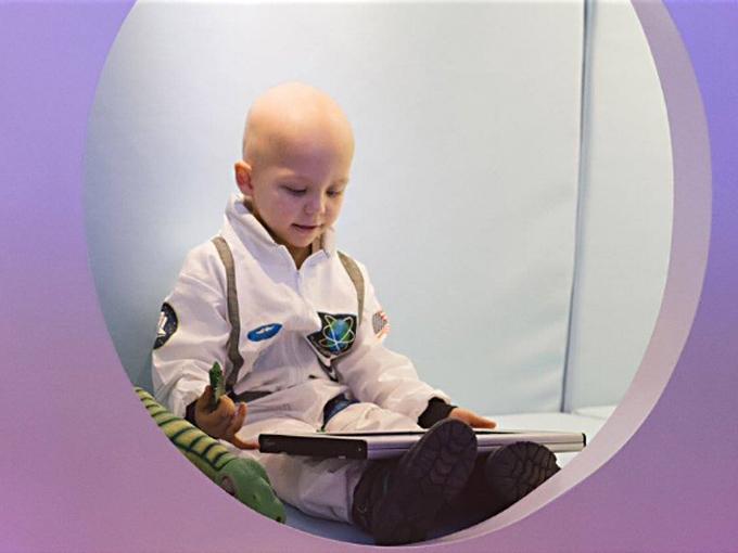 Conoce la primera estación lunar para niños con cáncer