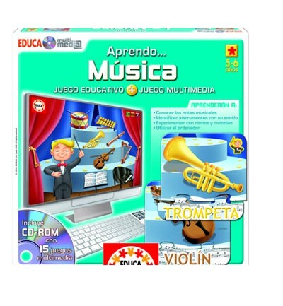 Educa Multimedia Aprendo Música. Educa Borrás