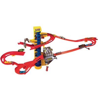 Wall Tracks de Hot Wheels. Mattel
