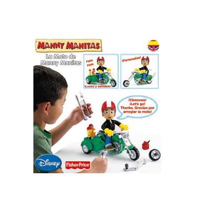 La Moto de Manny Manitas de Mattel