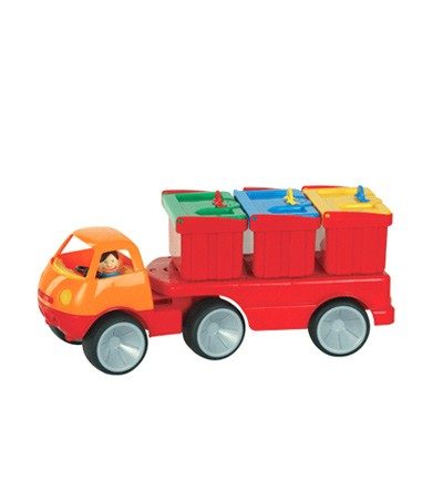 Camion containers de Gowi