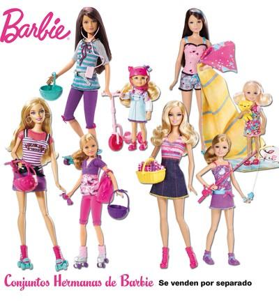 Barbie y sus hermanas de Mattel