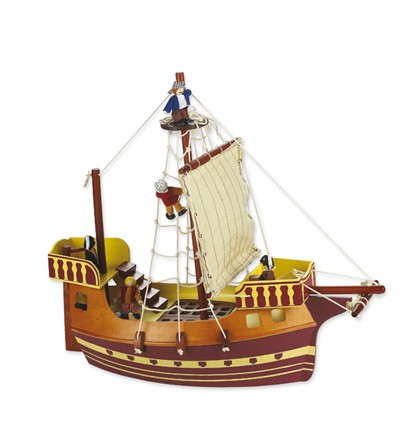 Barco Pirata. Cayro