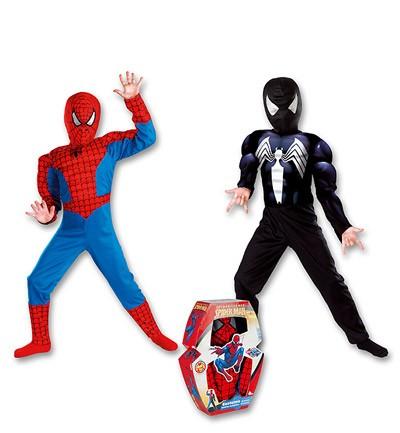 Disfraz Spiderman con músculos reversible. Josman