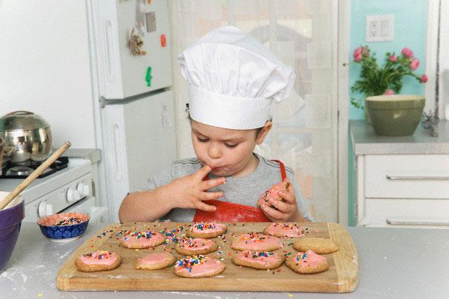 Hacer galletas caseras