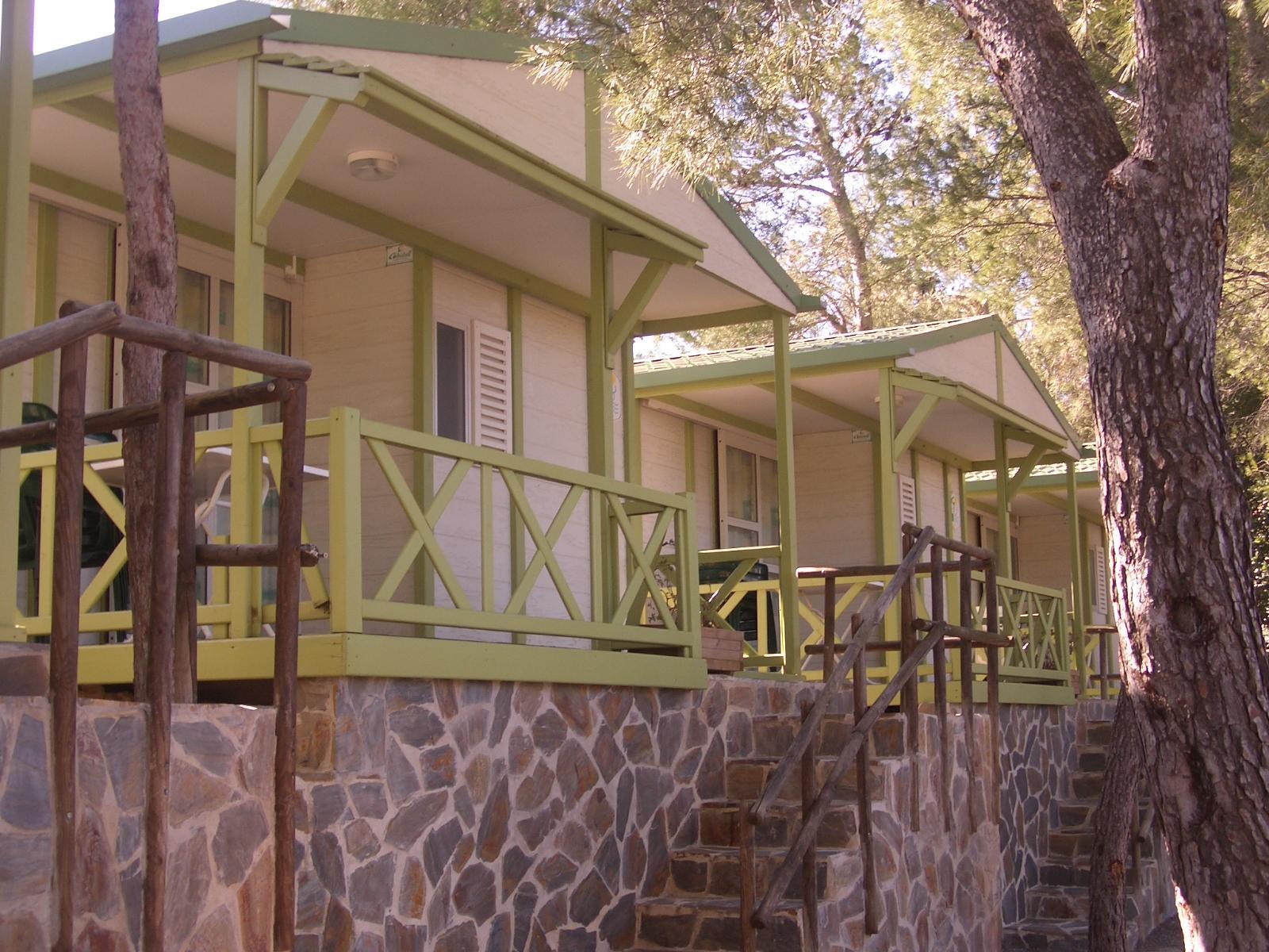 Cabañas Altomira, en Navajas (Castellón)