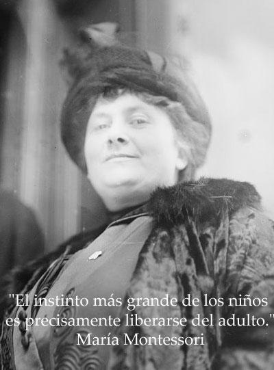 10 Frases De María Montessori Liberase Del Adulto