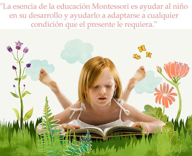 La esencia de la educación Montessori