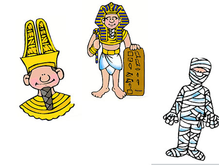 Talleres infantiles sobre Egipto