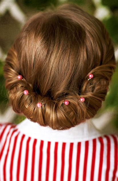 Peinados para niñas para una ocasión especial - Recogido