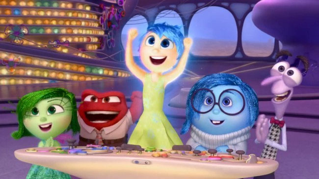 Inside Out, una peli emocionante