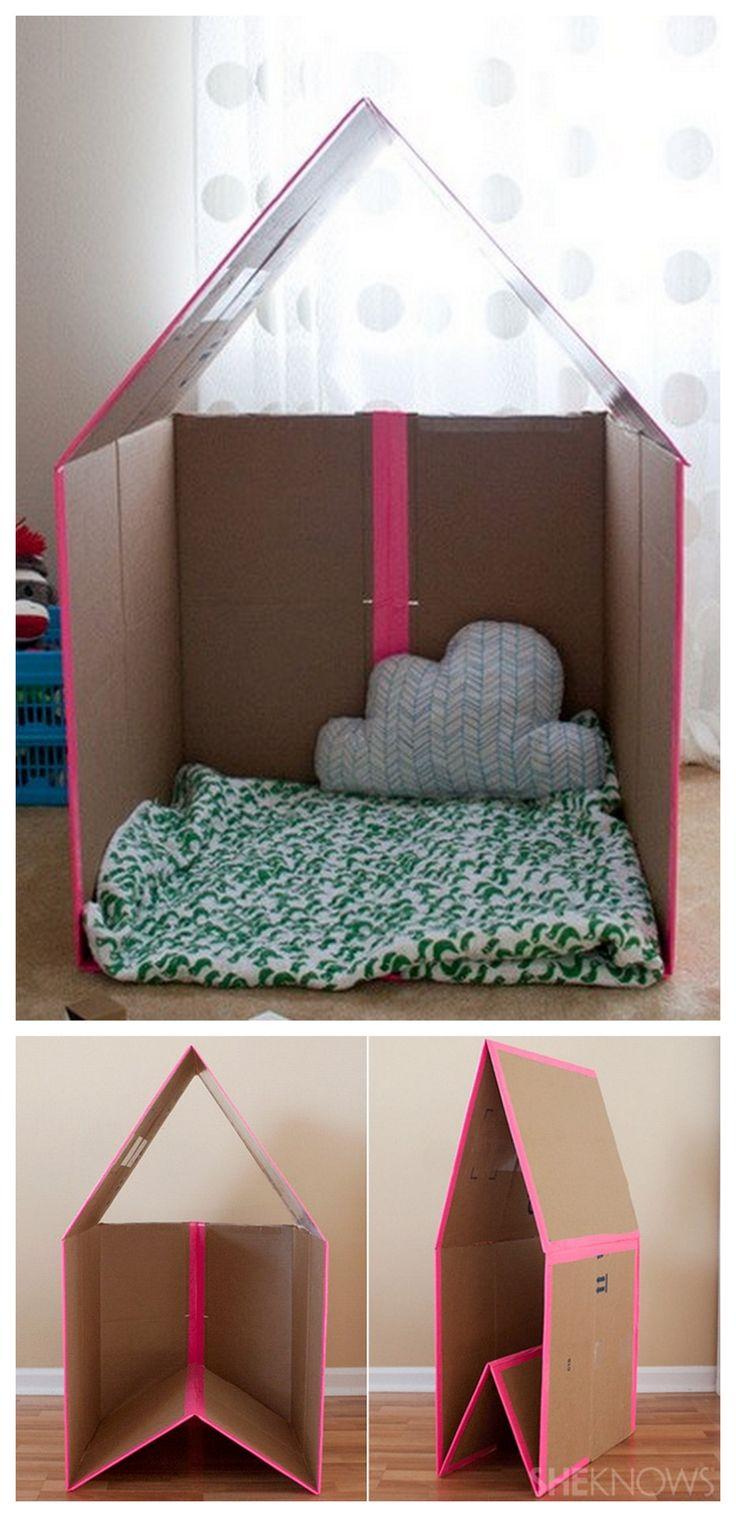 Como Hacer Una Casa De Carton Para Niños Niños Relacionados