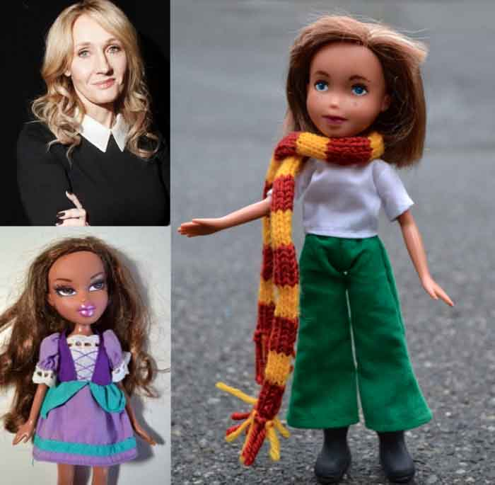 J.K. Rowling, una muñeca que no hace magia... pero casi