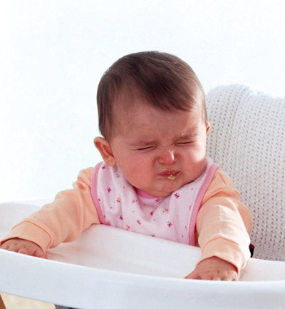 Las expresiones del bebé - Asco