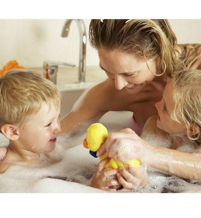 Bañarse con mamá