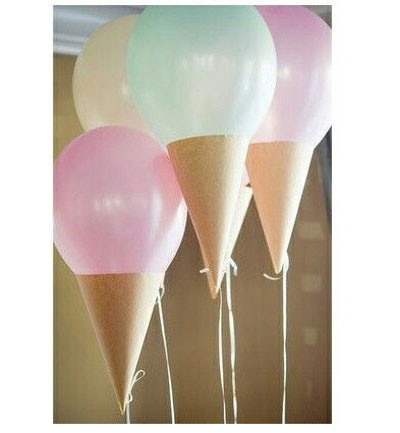Ideas para celebrar cumplea os infantiles decoraci n de - Decoracion de helados ...