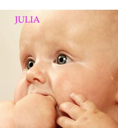 Nombre para niña: Julia