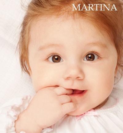 Nombre para niña: Martina