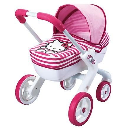 Juguetes Para Niñas De 2 Años Cochecito Pop Pram Hello Kitty Smoby