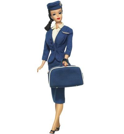 Las profesiones de Barbie - Azafata