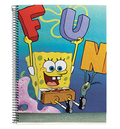 Cuaderno de Bob Esponja